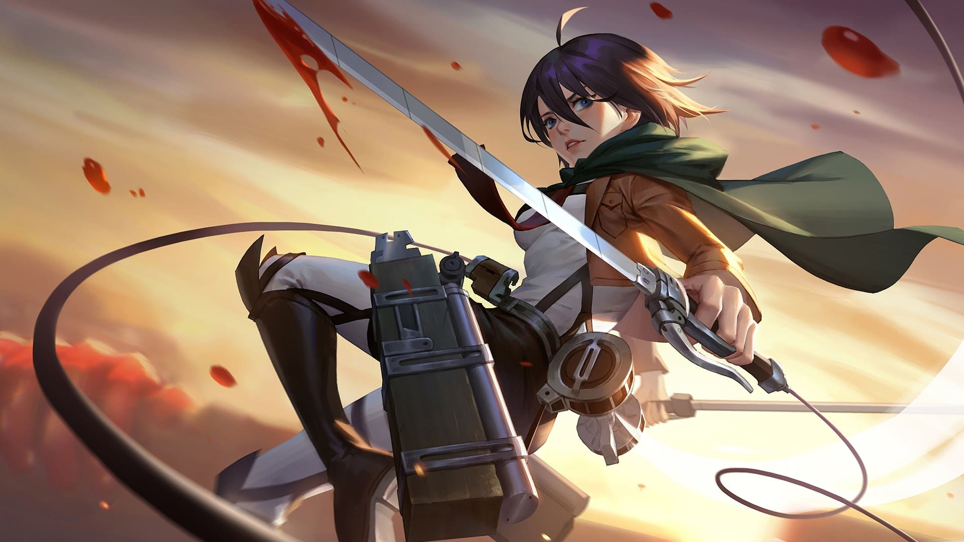 Top 95 Attack on Titan Wallpapers  4k + HD