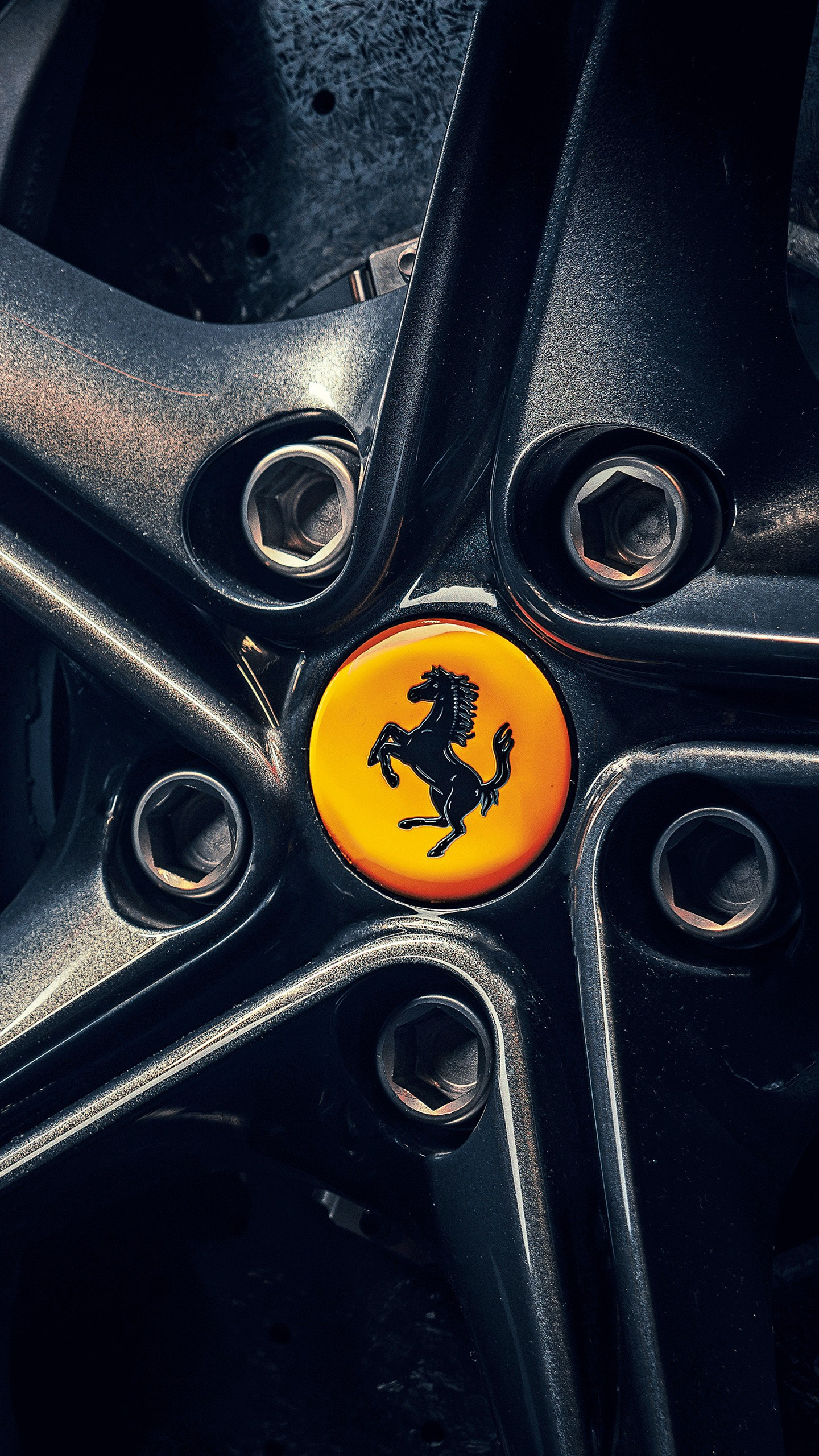 Top 35 Ferrari Logo Wallpapers 4k Hd
